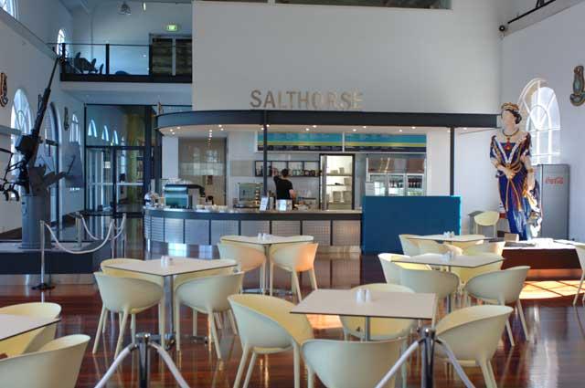 Salthorse Café.