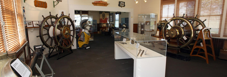 Interior of the HMAS Cerberus museum.