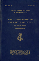 Naval Operations in the Battle of Crete