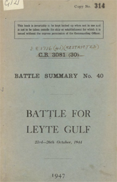 Battle for Leyte Gulf