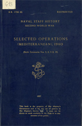 Selected Operations (Mediterranean)