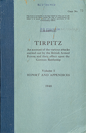 Tirpitz Volume 1