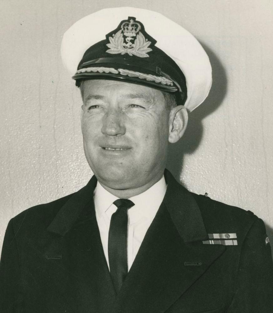 Captain I.W. Broben, RAN