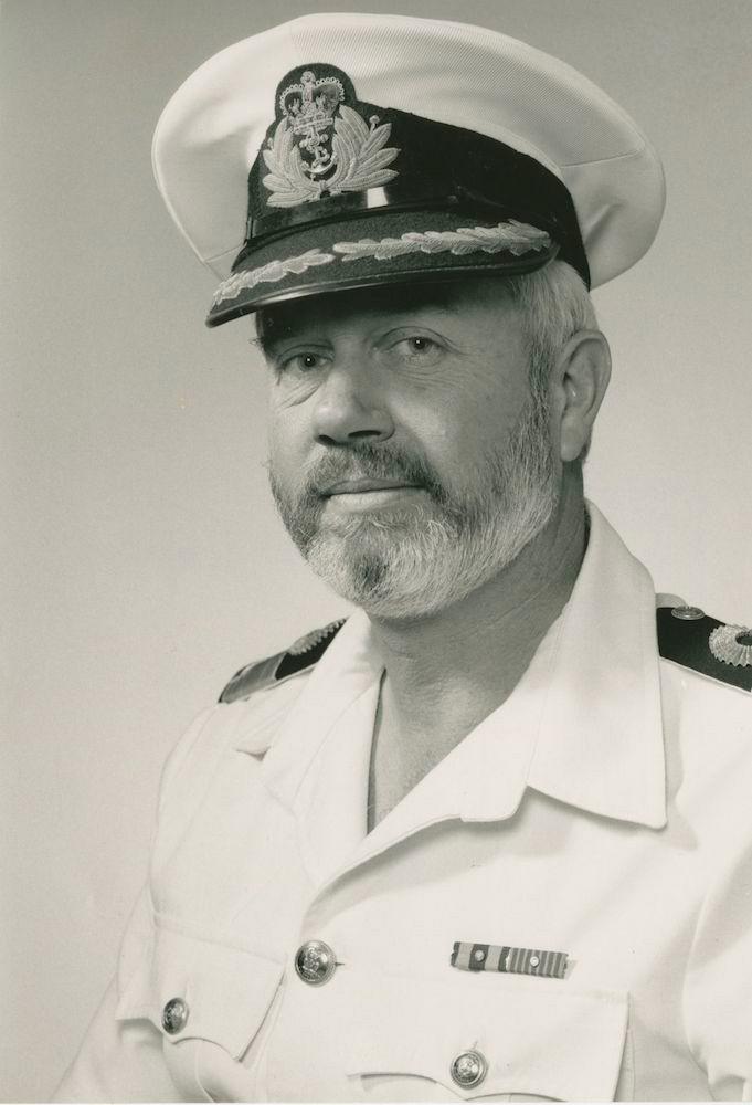 Captain M.S. Unwin, RAN