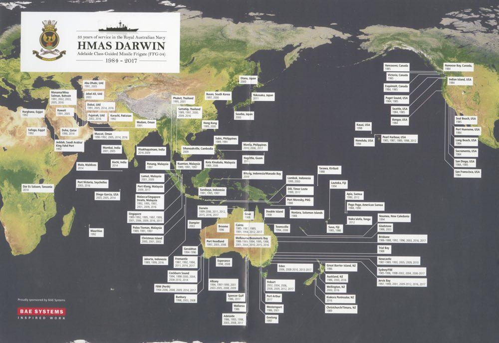 HMAS Darwin Part Five   Royal Australian Navy