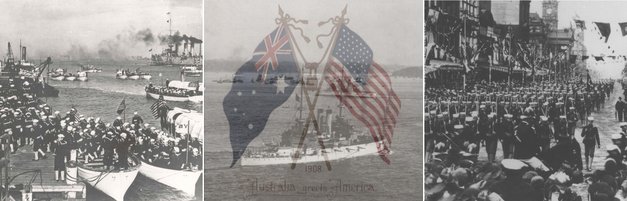 The Great White Fleets 1908 Visit To Australia Royal Australian Navy