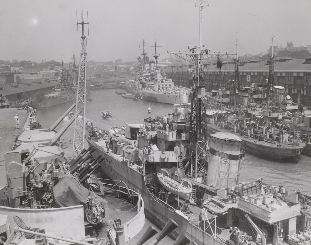 The British Pacific Fleet   Royal Australian Navy