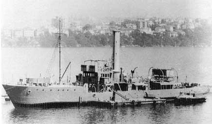 HMAS Kara Kara.