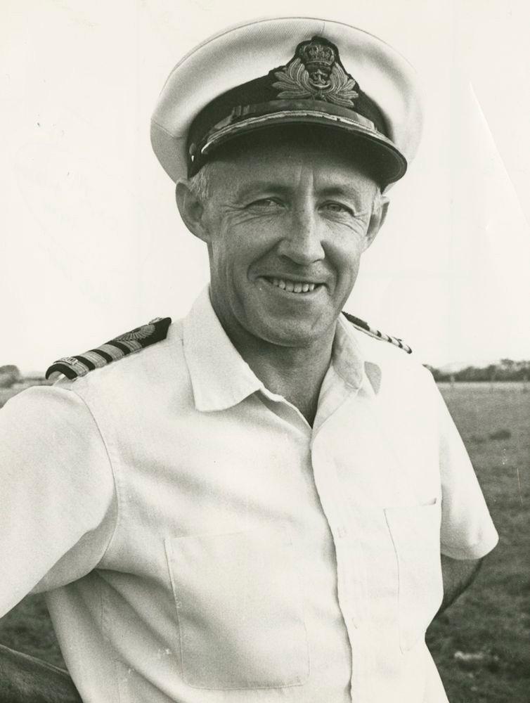 Captain M.W. Hudson, RAN