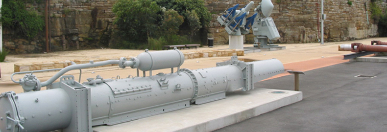 Surface Torpedo Launcher
