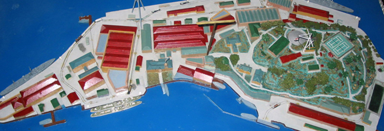 Model: Garden Island 1940