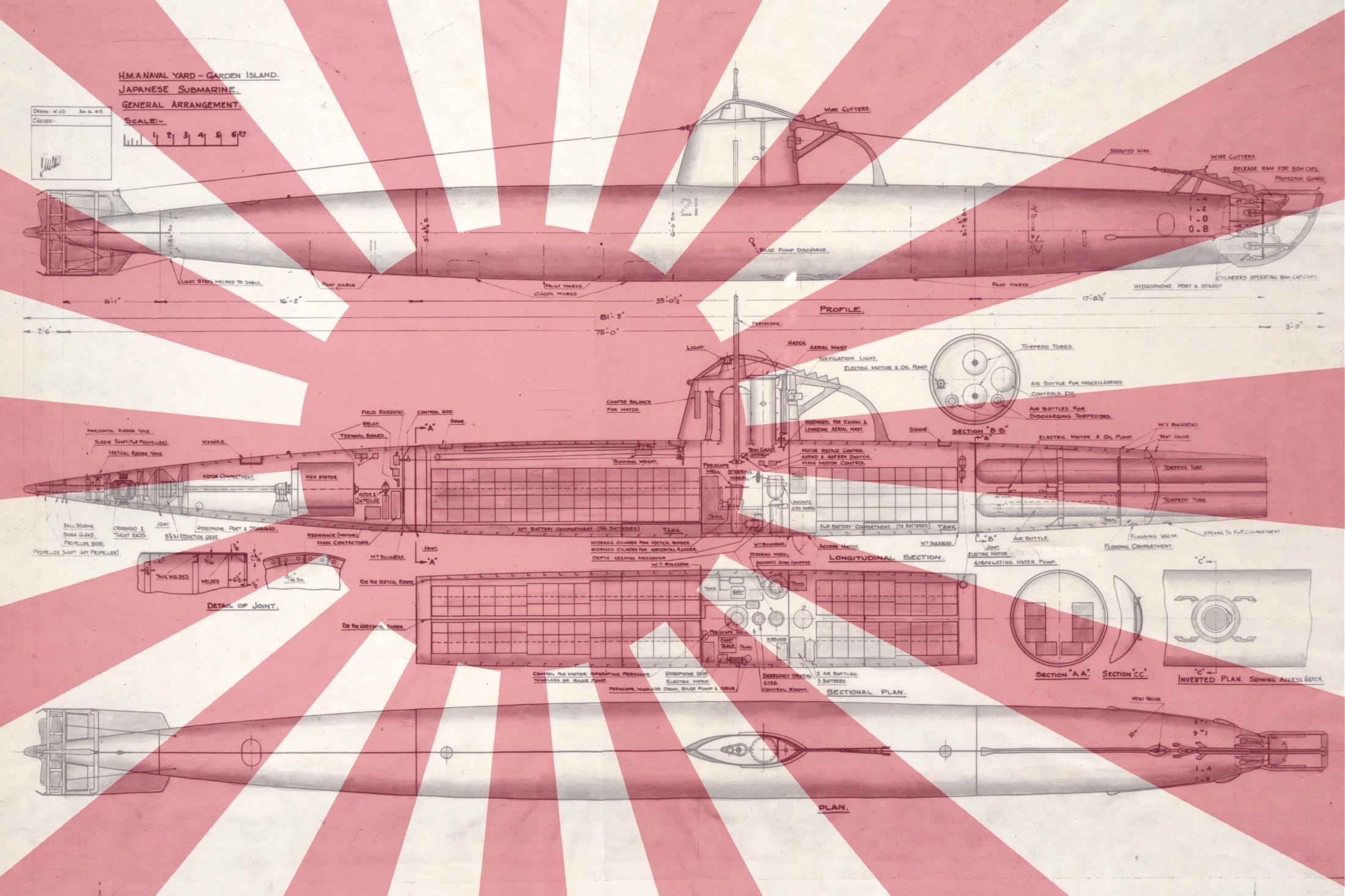 Japanese Midget Submarine Attack on Sydney Harbour | Royal