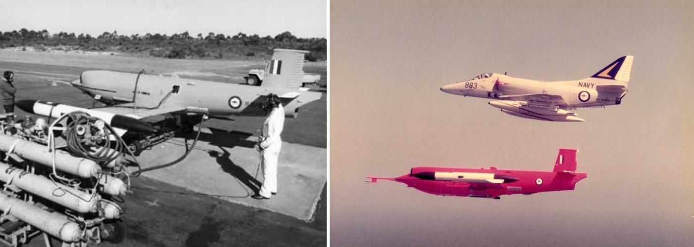 Gaf Jindivik Pilotless Target Aircraft Royal Australian Navy