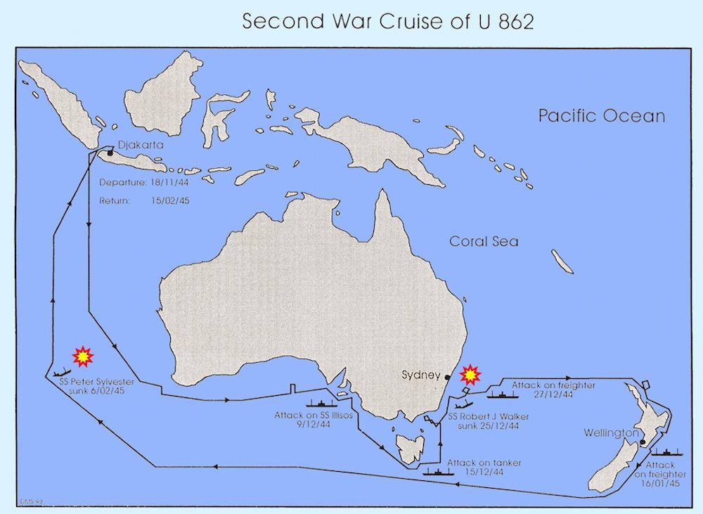 German U-Boat Operations in Australian Waters | Royal ...