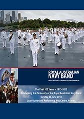 RAN Band Centenary Concert Program