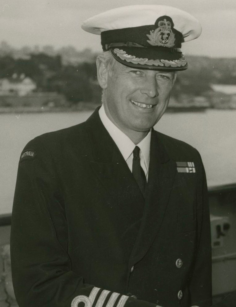Captain M.Dev. Salmon, RAN