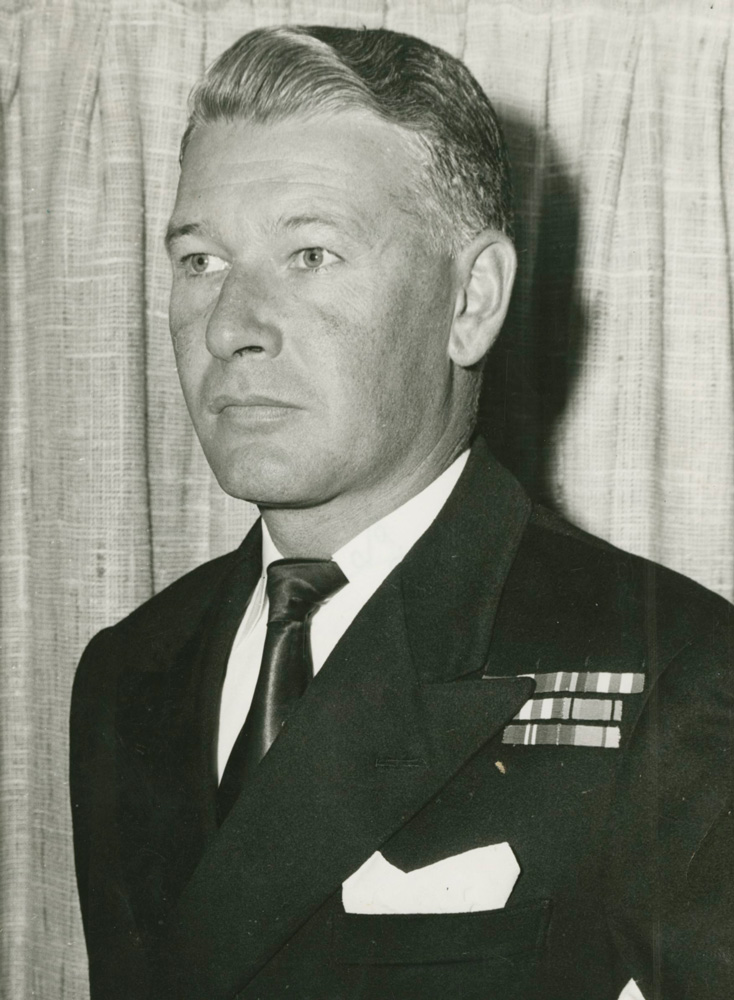 Captain N.A. Boase, RAN