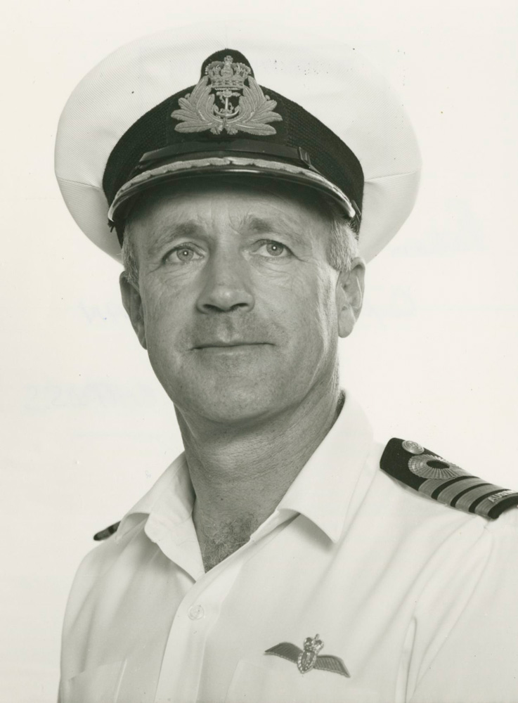 Captain J.D. Goble, RAN