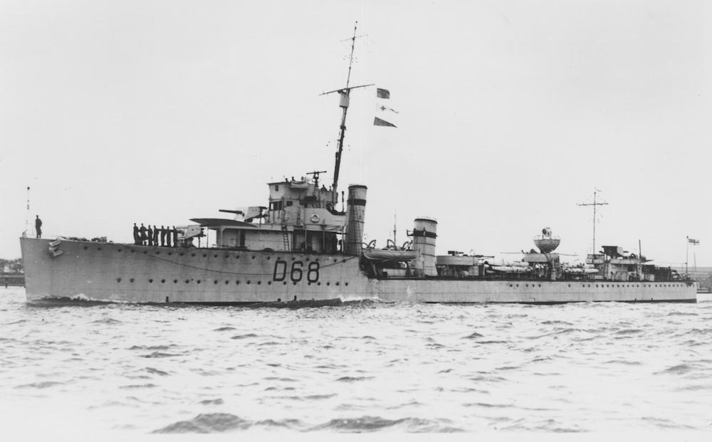 HMAS Vampire (I) | Royal Australian Navy
