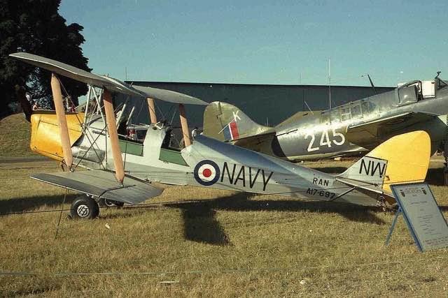 72d9757fe De Havilland Tiger Moth | Royal Australian Navy