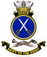 HMAS Acute Badge