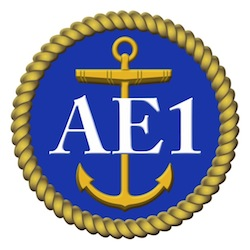 HMAS AE1 Badge