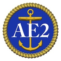 HMAS AE2 Badge