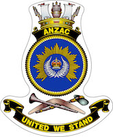 HMAS Anzac (II) Badge