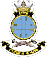 HMAS Arrow Badge