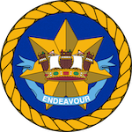 HMAS Australia (I) badge