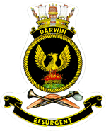 HMAS Darwin Badge