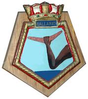 HMAS Ballarat (I) Badge