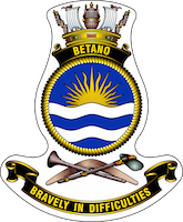HMAS Betano ships badge