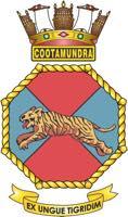 HMAS Cootamundra Badge