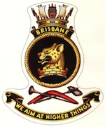 HMAS Brisbane (II) Badge