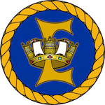 HMAS Encounter (I) badge