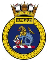 HMAS Hawkesbury (I) Badge