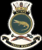 HMAS Aitape Badge