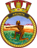 HMAS Arunta (I) Badge