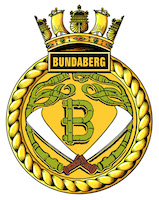 HMAS Bundaberg (I) Badge