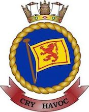 HMAS Kanimbla (I) Badge