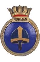 HMAS Norman (I) Badge