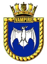 HMAS Vampire (I) Badge
