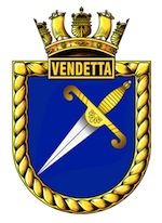 HMAS Vendetta (I) Badge