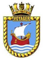 HMAS Voyager (I) Badge