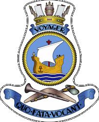 HMAS Voyager (II) Badge