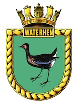 HMAS Waterhen (I) Badge