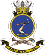 HMAS Adelaide ship's badge