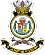 HMAS Barwon badge