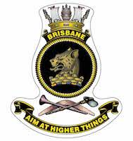 HMAS Brisbane ship badge